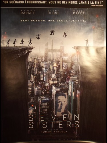Affiche du film SEVEN SISTERS - WHAT HAPPENED TO MONDAY