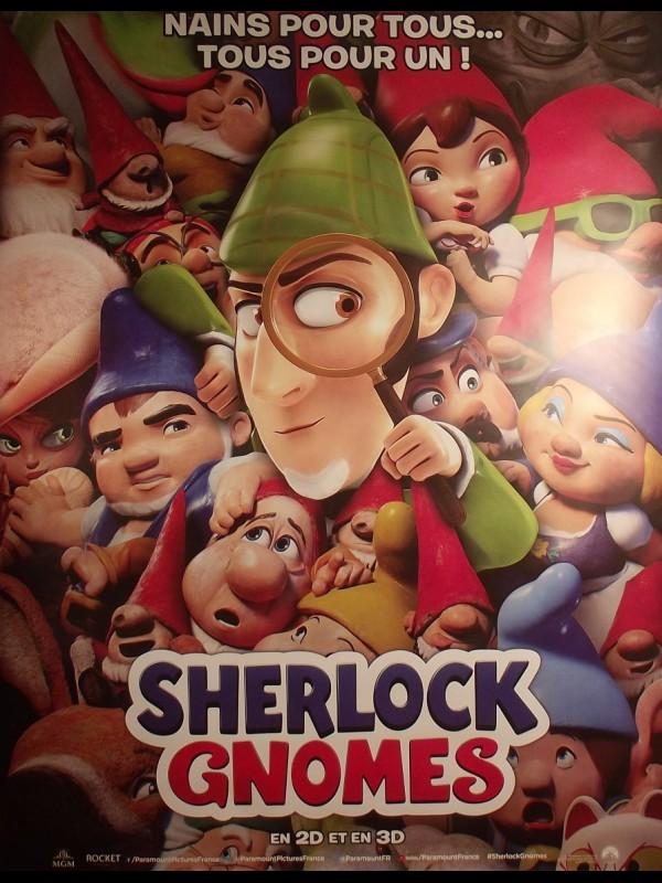 Affiche du film SHERLOCK GNOME