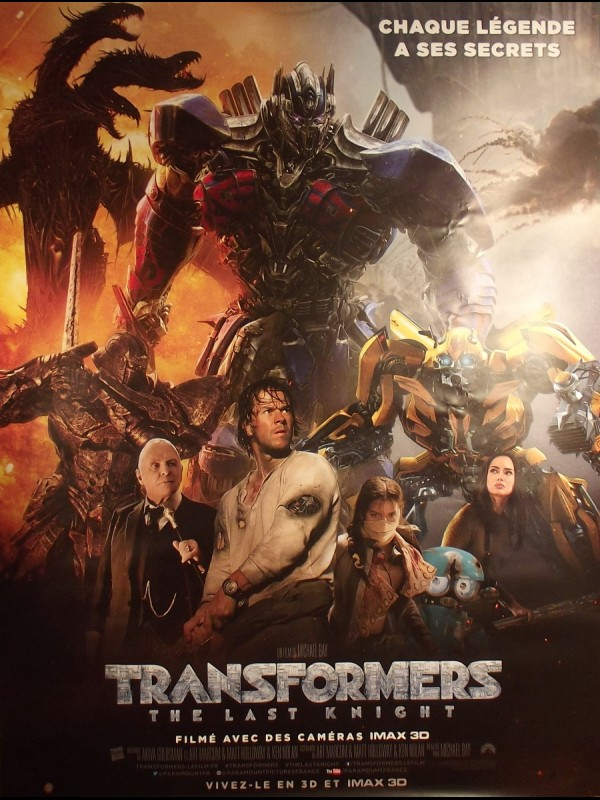 Affiche du film TRANSFORMERS - THE LAST KNIGHT -