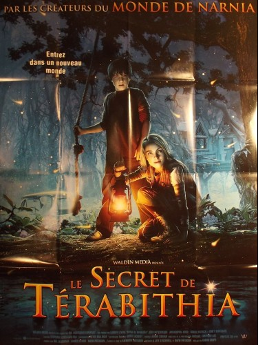 Affiche du film SECRET DE TERABITHIA (LE) - BRIDGE TO TERABITHIA