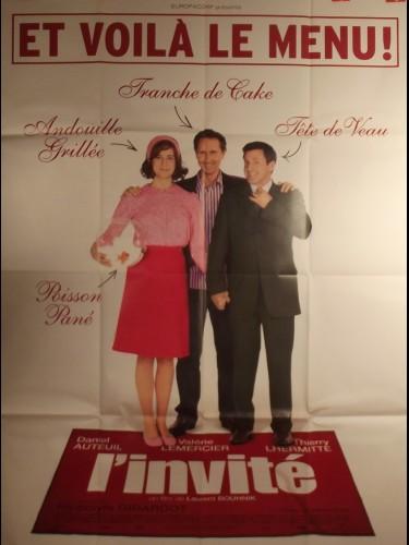 Affiche du film L'INVITE