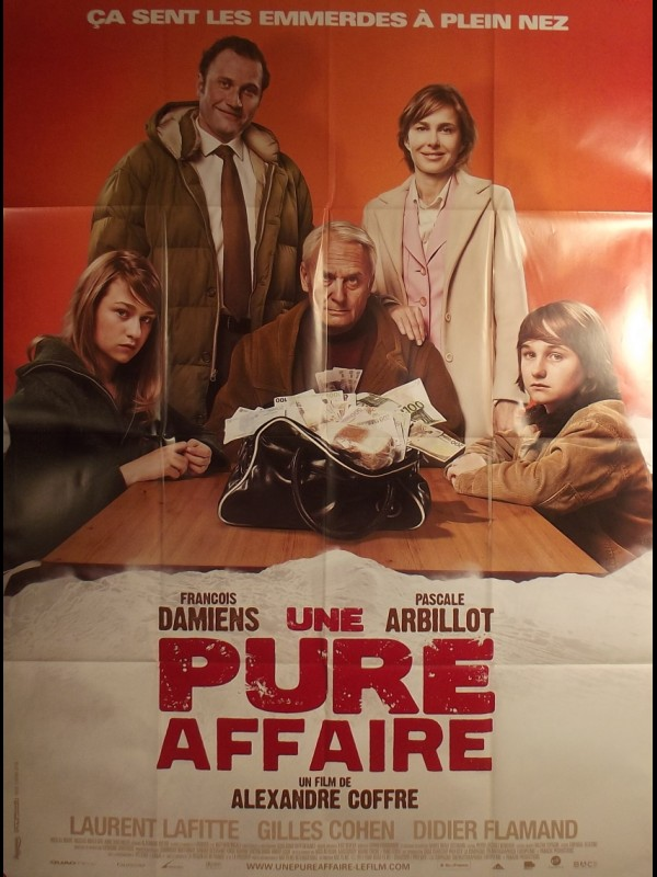 Affiche du film UNE PURE AFFAIRE