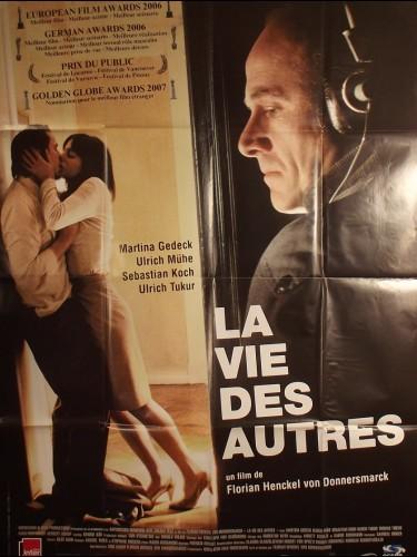 Affiche du film LA VIE DES AUTRES - titre original : DAS LEBEN DER ANDEREN