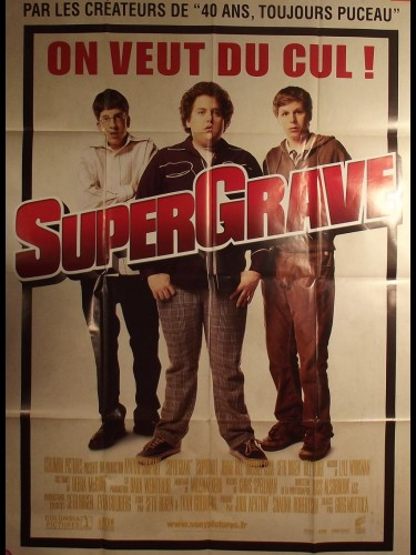 Affiche du film SUPERGRAVE - titre original : SUPERBAD