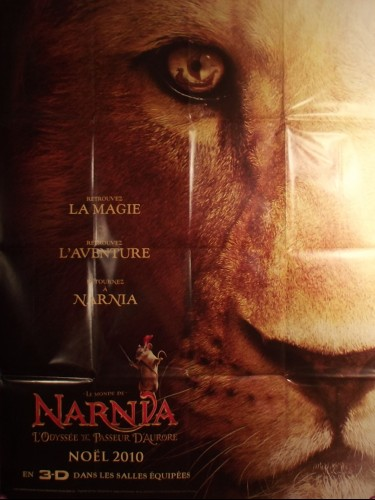 Affiche du film LE MONDE DE NARNIA : L'ODYSSEE DU PASSEUR D'AURORE - titre original : THE CHRONICLES OF NARNIA : THE VOYAGE OF DAWN TREADER