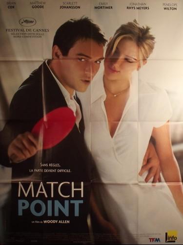 Affiche du film MATCH POINT