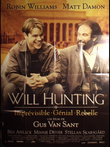 Affiche du film WILL HUNTING - Titre original : GOOD WILL HUNTING