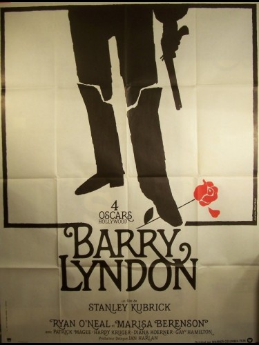 Affiche du film BARRY LINDON (OSCARISÉ)