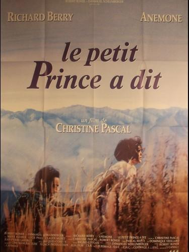 Affiche du film LE PETIT PRINCE A DIT