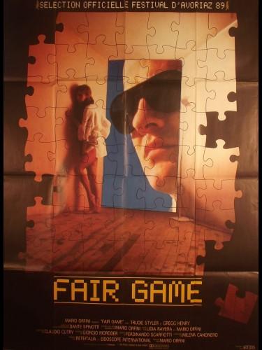 Affiche du film FAIR GAME