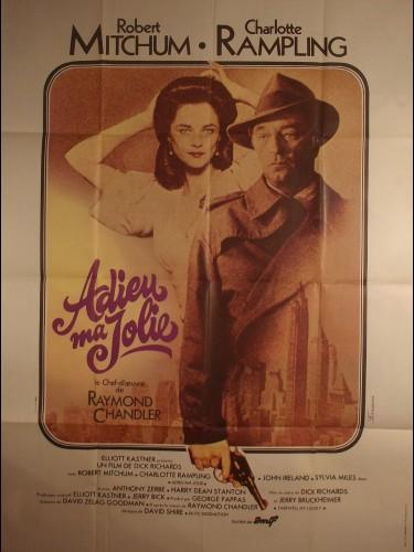 Affiche du film ADIEU MA JOLIE - Titre original : FAREWELL,MY LOVELY
