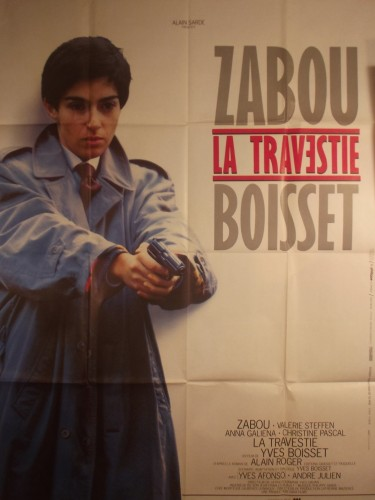 Affiche du film LA TRAVESTIE