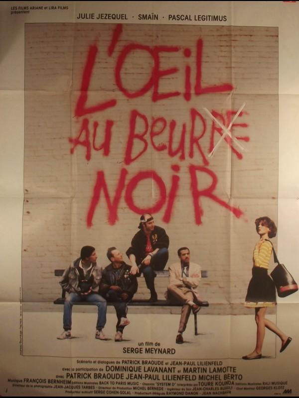 Affiche du film L'ŒIL AU BEURRE NOIR