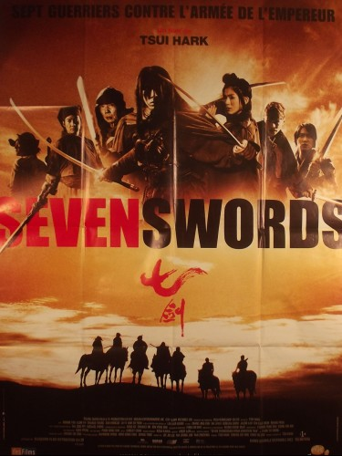 Affiche du film SEVEN SWORDS - Titre original : SEVEN SWORDS OF MOUNT TIAN