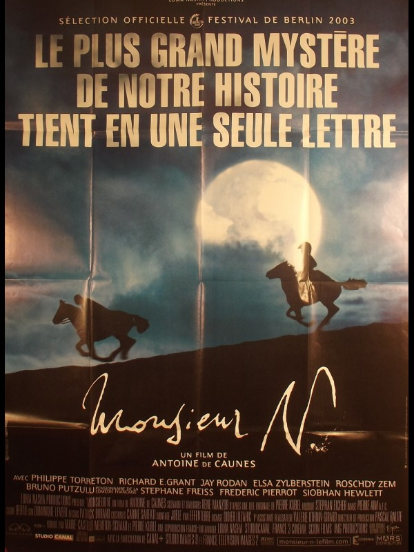Affiche du film MONSIEUR N