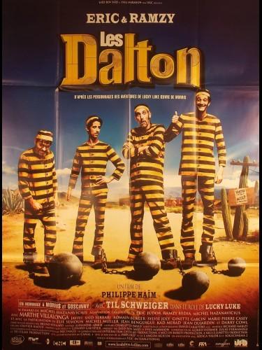 Affiche du film LES DALTON