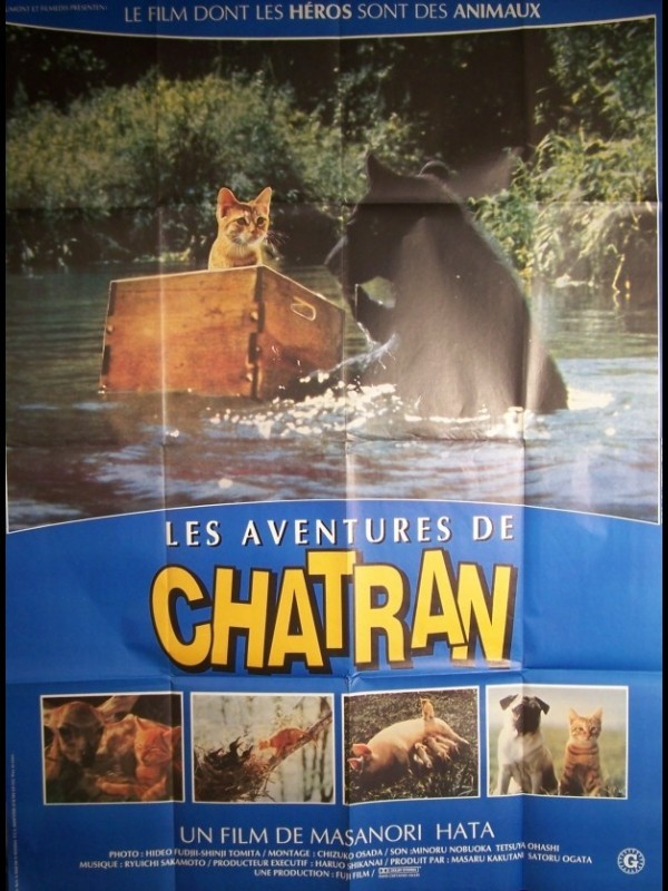 Affiche du film AVENTURES DE CHATRAN (LES) - Titre original : A KITTEN'S STORY