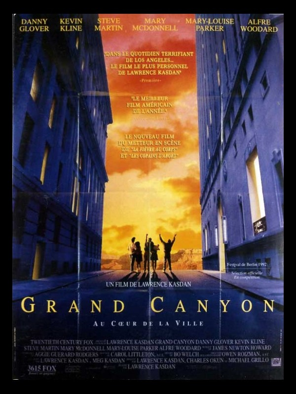Affiche du film GRAND CANYON