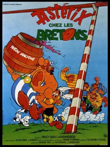 Affiche du film ASTERIX CHEZ LES BRETONS