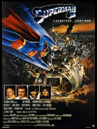 Affiche du film SUPERMAN 2