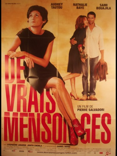 Affiche du film DE VRAIS MENSONGES