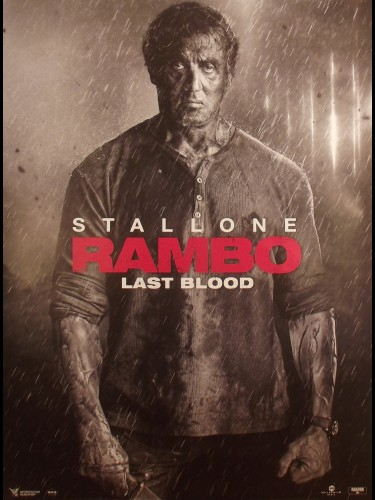 Affiche du film RAMBO - LAST BLOOD