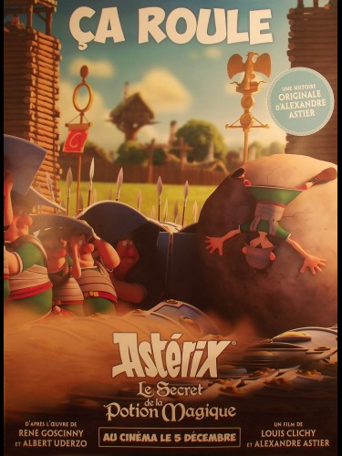 Affiche du film ASTERIX - LE SECRET DE LA POTION MA2GIQUE- CA ROULE