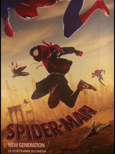 Affiche du film SPIDERMAN NEW GENERATION