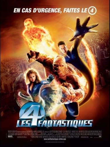 Affiche du film 4 FANTASTIQUES (LES) 1 - FANTASTIC FOUR (THE) 1