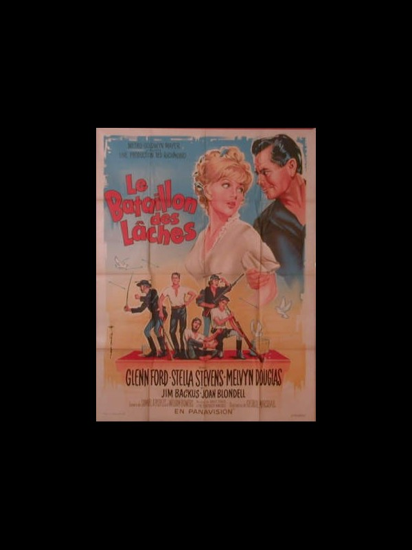 Affiche du film BATAILLON DES LACHES (LE) - ADVANCE TO THE REAR