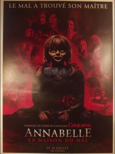 Affiche du film ANNABELLE