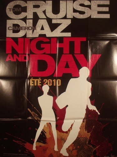 Affiche du film NIGHT AND DAY (affiche preventive)