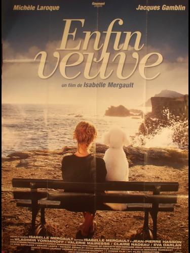 Affiche du film ENFIN VEUVE