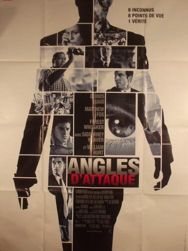 Affiche du film ANGLES D'ATTAQUE - Titre original : VANTAGE POINT