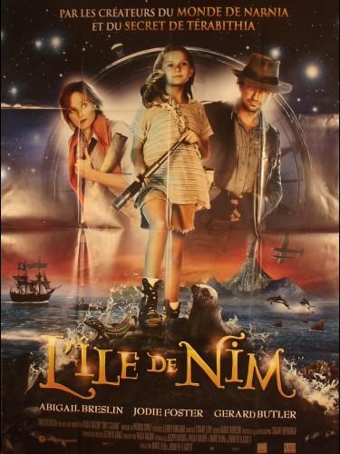 Affiche du film L'ILE DE NIM - Titre original : NIM'S ISLAND