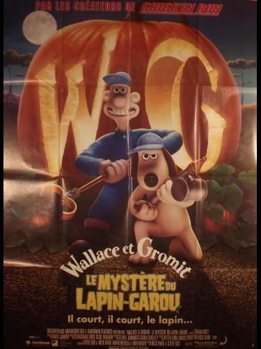 Affiche du film WALLACE ET GROMIT LE MYSTÈRE DU LAPIN-GAROU - WALLACE & GROMIT: THE CURSE OF THE WERE-RABBIT