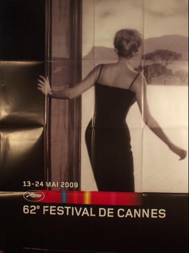 Affiche du film CANNES 2009 AFFICHE OFFICIELLE