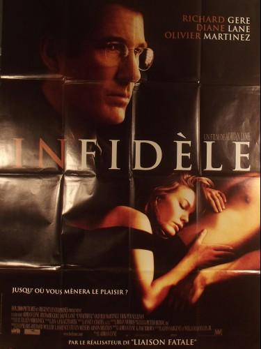 Affiche du film INFIDELE - Titre original : UNFAITHFUL