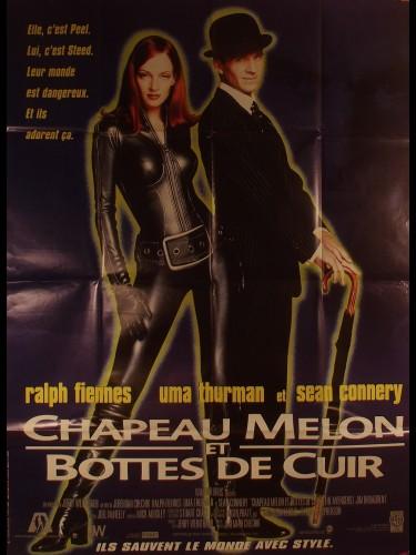 Affiche du film CHAPEAU MELON ET BOTTES DE CUIR - Titre original : THE AVENGERS