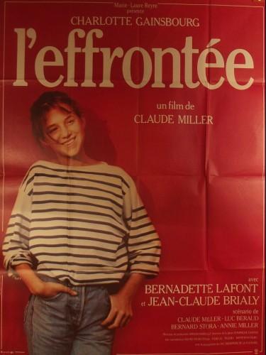 Affiche du film L'EFFRONTEE