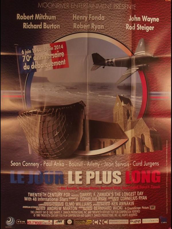Affiche du film LE JOUR LE PLUS LONG - Titre original : THE LONGEST DAY