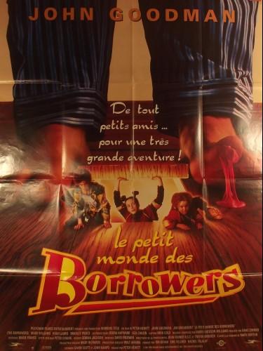 Affiche du film LE PETIT MONDE DES BORROWERS - Titre original : THE BORROWERS
