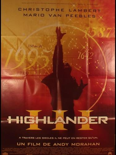 Affiche du film HIGHLANDER 3
