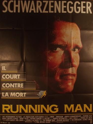 Affiche du film RUNNING MAN