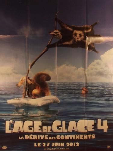 Affiche du film L'AGE DE GLACE 4