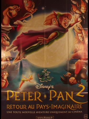 Affiche du film PETER PAN 2 (RETOUR AU PAYS IMAGINAIRE) - Titre original : PETER PAN (RETURN TO NEVER LAND)