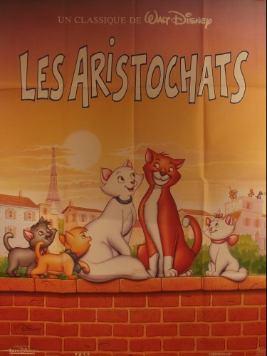 Affiche du film LES ARISTOCHATS - Titre original : THE ARISTOCATS