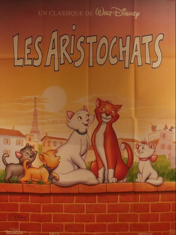 Affiche du film LES ARISTOCHATS - Titre original : THE ARISTOCATS