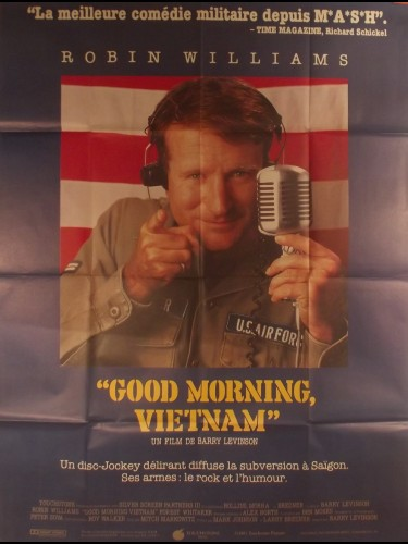 Affiche du film GOOD MORNING VIETNAM