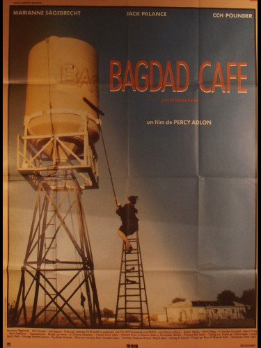 Affiche du film BAGDAD CAFE - Titre original : OUT OF ROSENHEIM